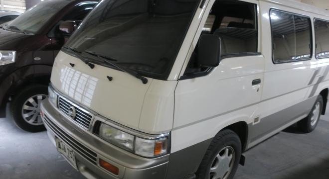 2015 Nissan Urvan 2.7L MT Diesel