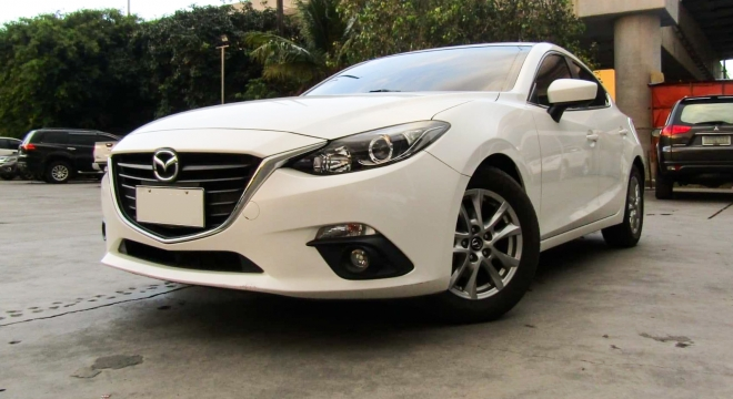 2015 mazda 3 hatchback 1.5l at gasoline used car for sale in makati city, metro manila, ncr autodeal