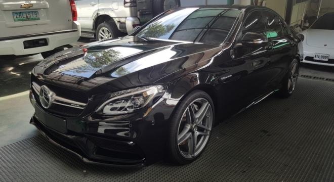 2016 Mercedes-Benz C63 AMG 4.0L CVT Gasoline