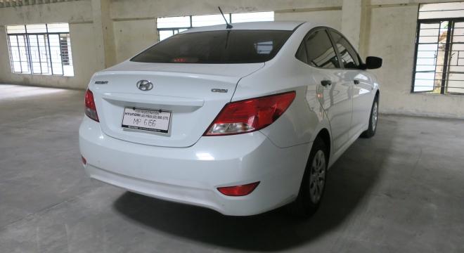 2016 Hyundai Accent Sedan 1.6L MT Diesel