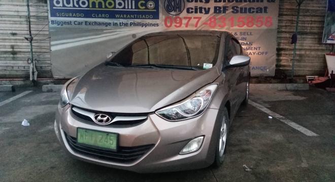 2013 hyundai elantra 1.6 gl at used car for sale in paranaque city, metro manila, ncr autodeal