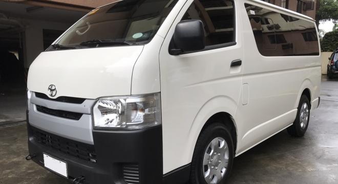 2017 Toyota Hiace 2.5L MT Diesel