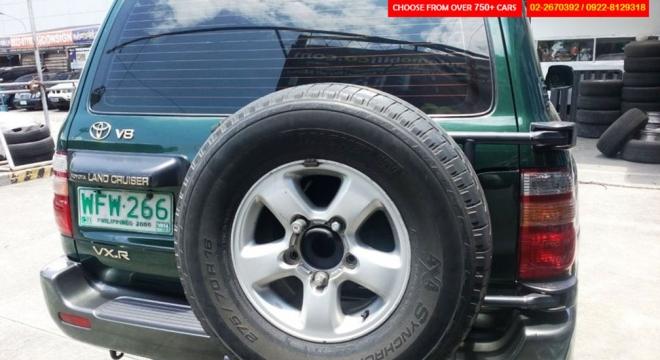 1998 Toyota Land Cruiser 4.2L AT Gasoline
