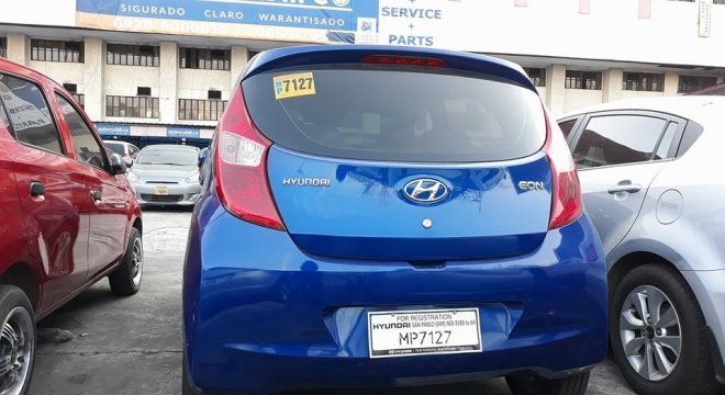 2016 Hyundai Eon 0 8L MT Gasoline Used Car For Sale in Paranaque