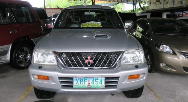 2004 Mitsubishi L200 Strada GLX MT Used Car For Sale in Pasig City