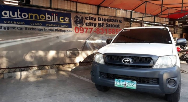2011 toyota hilux j mt used car for sale in paranaque city, metro manila, ncr autodeal