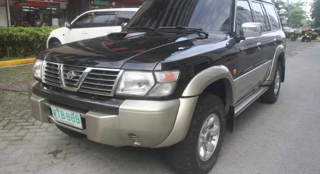 2001 Nissan Patrol 3.0 4x4 AT Diesel