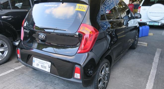 2016 Kia Picanto EX 1.2L AT Gas