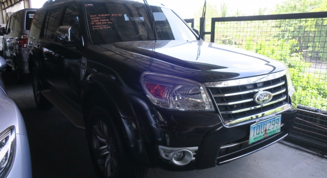 2012 Ford Everest XLT (4X2) AT