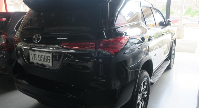 2016 Toyota Fortuner 2.4 G Diesel 4x2 AT