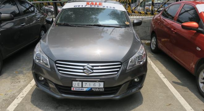 2017 suzuki ciaz 1.4l mt gasoline used car for sale in quezon city, metro manila, ncr autodeal