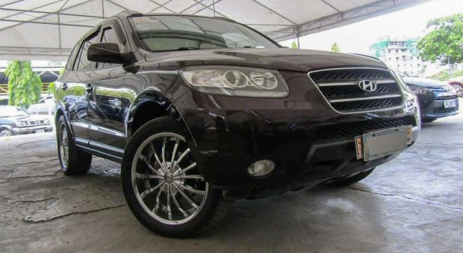 2008 hyundai santa fe diesel 4x2 at used car for sale in makati city, metro manila, ncr autodeal