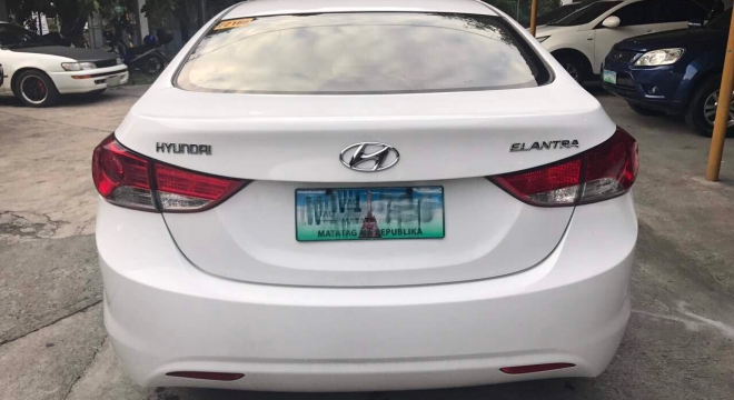 2013 Hyundai Elantra 1.6L AT Gasoline