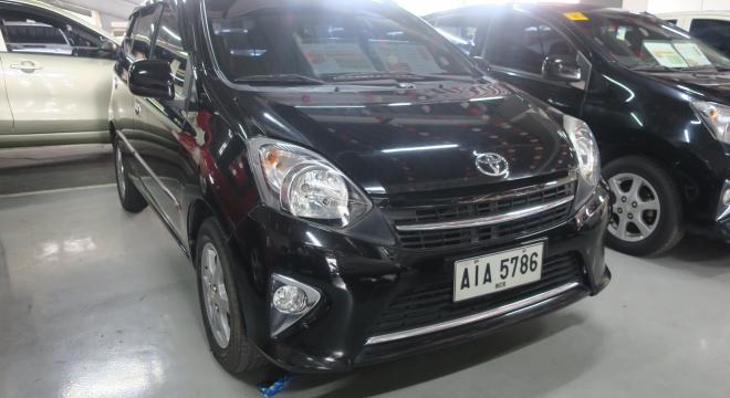 2015 Toyota Wigo 1.0L AT Gasoline