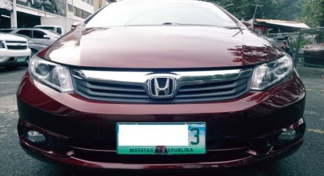 2012 Honda Civic 1.8S AT