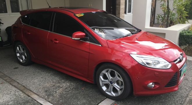2013 Ford Focus Hatchback 2.0L AT Gasoline