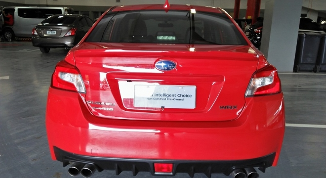 2014 Subaru WRX 2.0 CVT