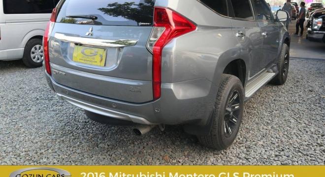 2016 Mitsubishi Montero Sport GT 4x4 AT
