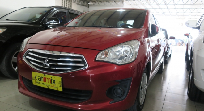 2015 Mitsubishi Mirage G4 1.2L AT Gasoline