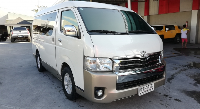 2014 Toyota Hiace Super Grandia AT
