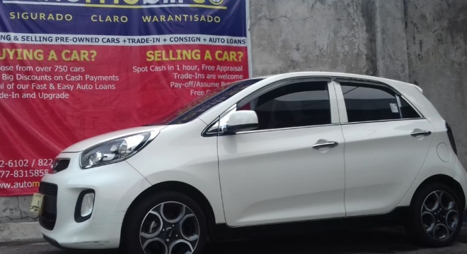 2016 Kia Picanto 1.2L AT Gasoline