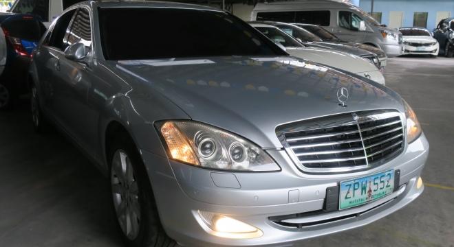 2008 Mercedes-Benz S-Class S 500