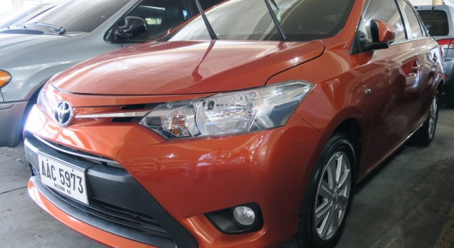 2014 Toyota Vios 1.3L AT Gasoline Used Car For Sale in Makati City ...