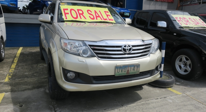 2012 Toyota Fortuner 2.7 G AT