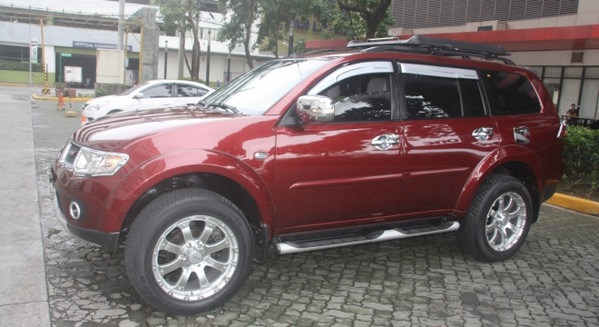 2013 Mitsubishi Montero Sport GTV