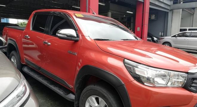 2015 Toyota Hilux G (4X2) AT 2.5L