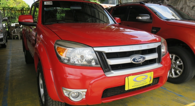 2012 Ford Ranger XLT (4X2) AT