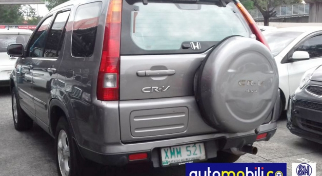 2004 Honda CR-V 2.0L AT Gasoline