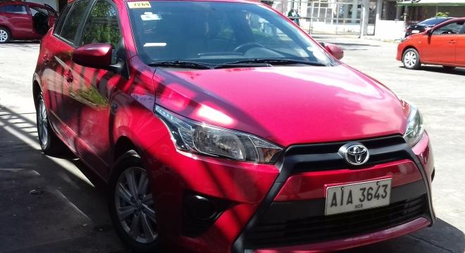 2015 Toyota Yaris 1.5L AT Gasoline