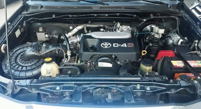 2012 Toyota Fortuner G MT DSL
