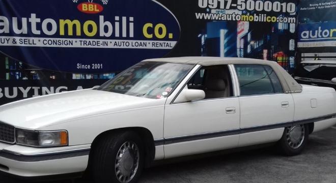 1994 Cadillac DeVille 1.5L AT Gasoline