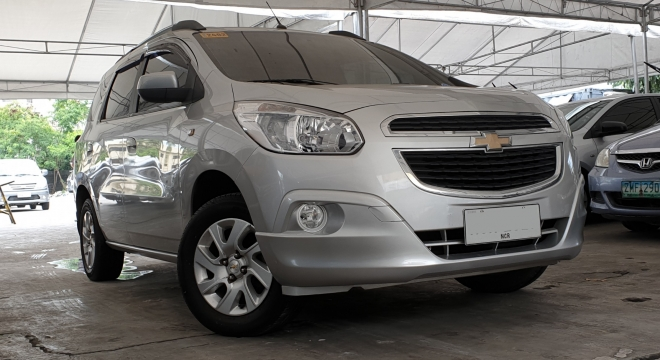2015 Chevrolet Spin 15l At Gasoline Used Car For Sale In Quezon