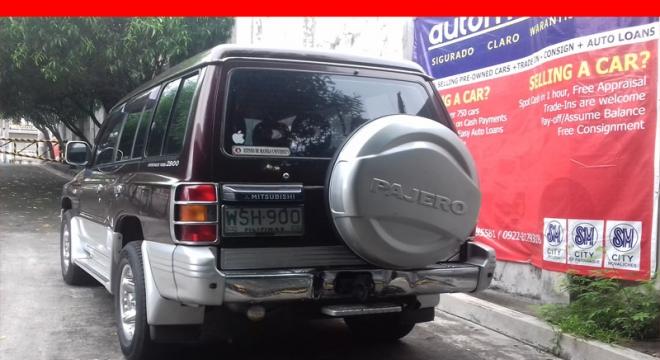 2001 Mitsubishi Pajero 2.8L AT Diesel