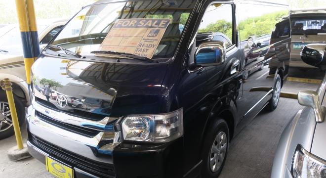 2015 Toyota Hiace 2.5L AT Diesel