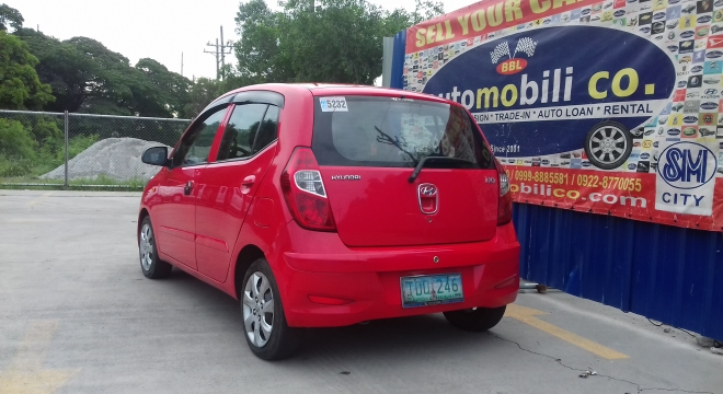 2011 Hyundai i10 1.0L MT Gasoline