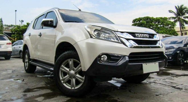 2015 isuzu mu-x 2.5 ls-a 4x2 at used car for sale in makati city, metro manila, ncr autodeal