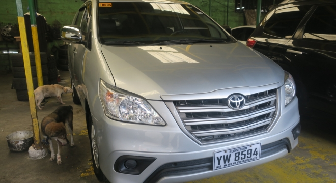 2016 Toyota Innova 2.5E MT Diesel