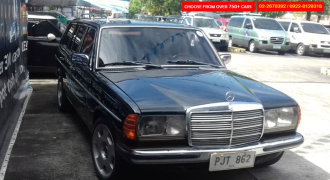1985 Mercedes-Benz 300TD 3.0L AT Diesel