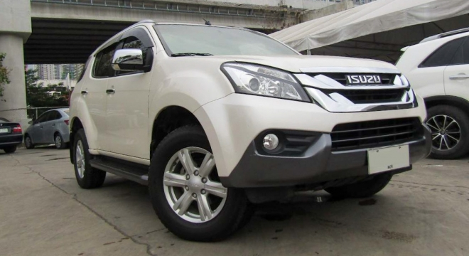 2015 isuzu mu-x 3.0l at diesel used car for sale in makati city, metro manila, ncr autodeal
