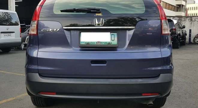 2012 Honda CR-V 2.0 S AT