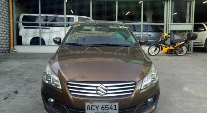 2016 suzuki ciaz 1.4l cvt gasoline used car for sale in pasig city, metro manila, ncr autodeal