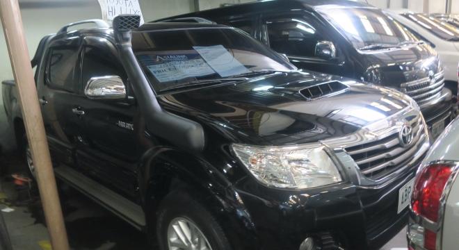 2015 Toyota Hilux 2.5L AT Diesel
