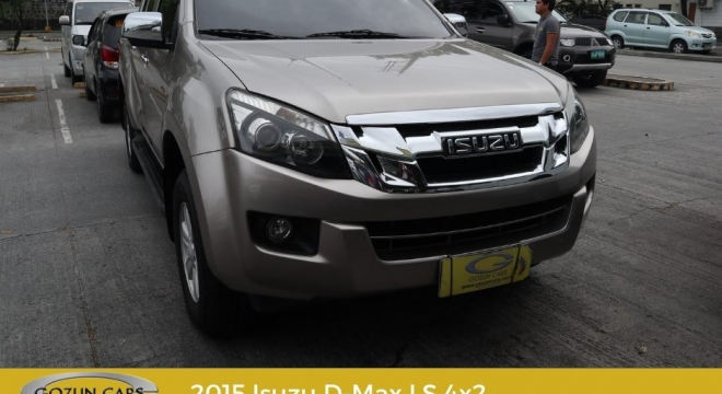 2015 isuzu dmax ls x-series 4x2 used car for sale in san fernando city, pampanga, central luzon autodeal