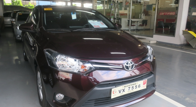 2017 Toyota Vios 1.3E MT