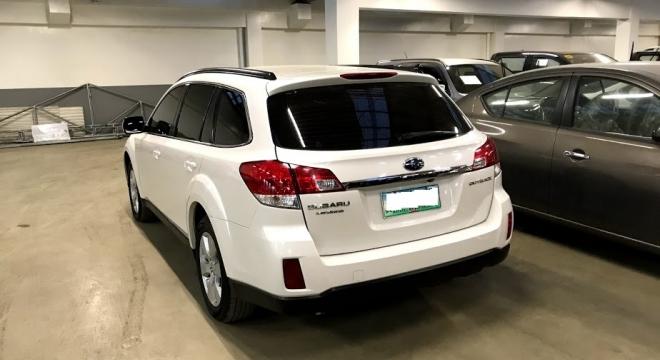 2012 Subaru Outback 3.6R