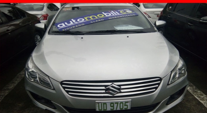 2016 suzuki ciaz 1.4l cvt gasoline used car for sale in paranaque city, metro manila, ncr autodeal